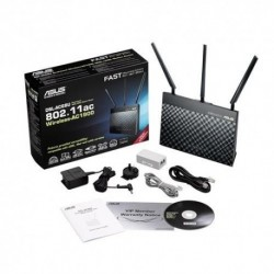 Router ASUS DSL-AC68U Wi-Fi AC1900 ADSL2/VDSL2 WAN RJ11 USB