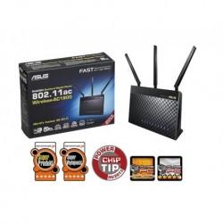 Router ASUS RT-AC68U Wi-Fi AC1900 4xLAN GB 1xWAN GB 2xUSB
