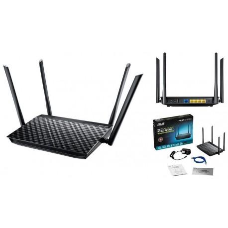 Router Asus RT-AC1200G+ DualBand AC1200 1xWAN 4xLAN 1USB