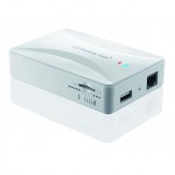 Router mobilny LTE iBOX z powerbankiem, gniazdo LAN/WAN