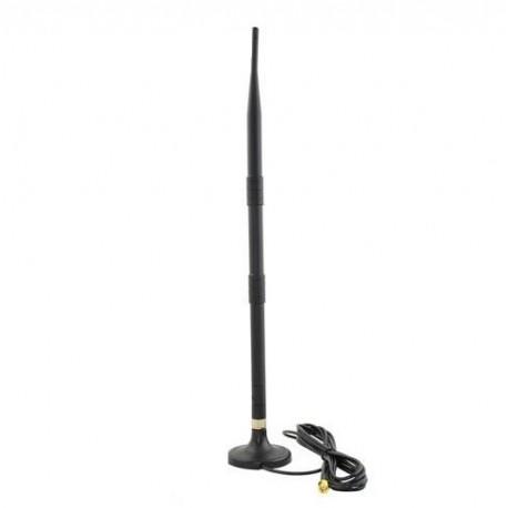 Antena dookólna SAVIO AK-05 WiFi LAN RP-SMA 12dBI 41CM RP-SM