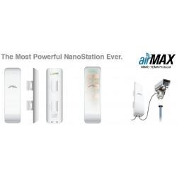 UBIQUITI airMAX NanoStation M5 5GHz 16dBi 2xRJ45 2x2 MIMO